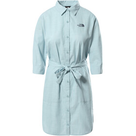 The North Face Bernina Dress Women, tourmaline blue chambray